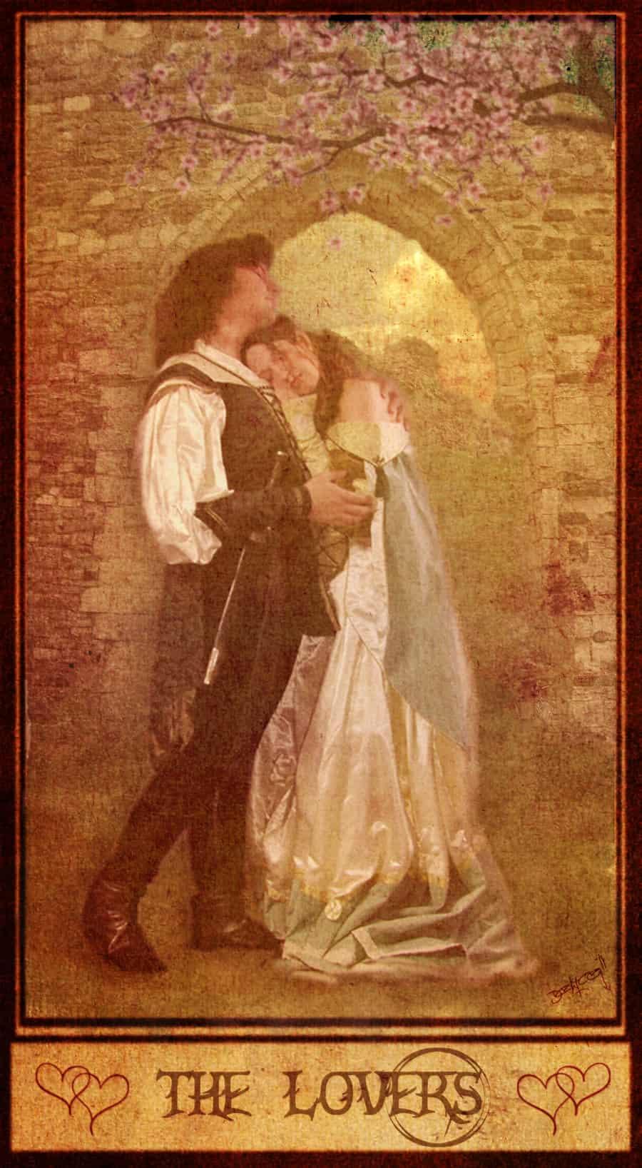 Tarot karta Ljubavnici