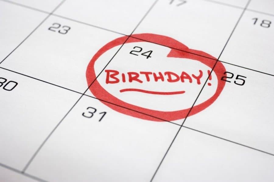Boje i datum rođenja