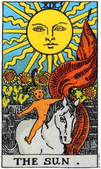 Tarot karta XIX Sunce – Šta nam otkriva u tumačenju?