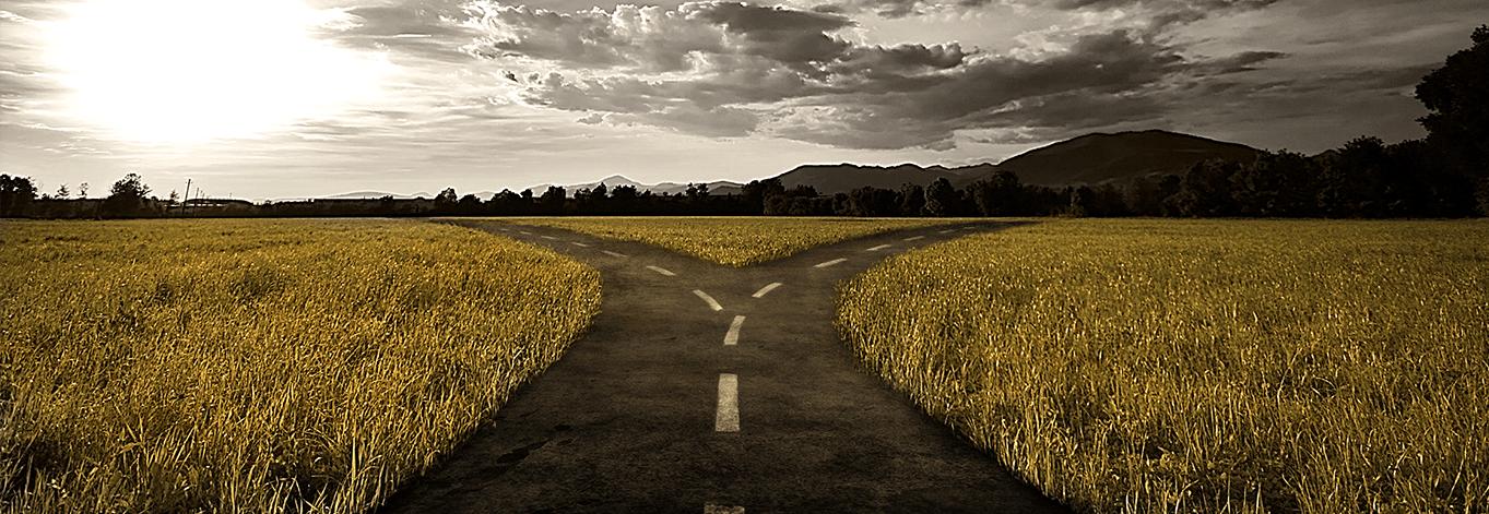 Lenormand karta Put (Raskršće)