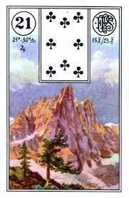 Lenormand karta Planina