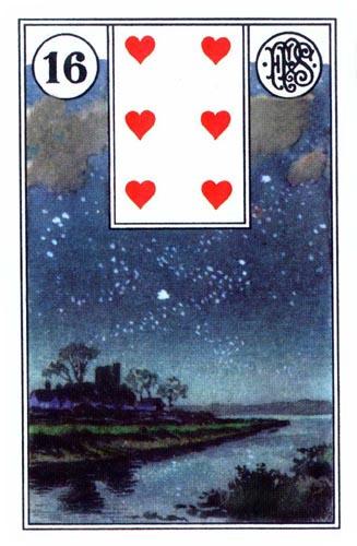 Lenormand karta Zvezda
