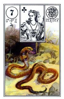 Lenormand karta – Zmija