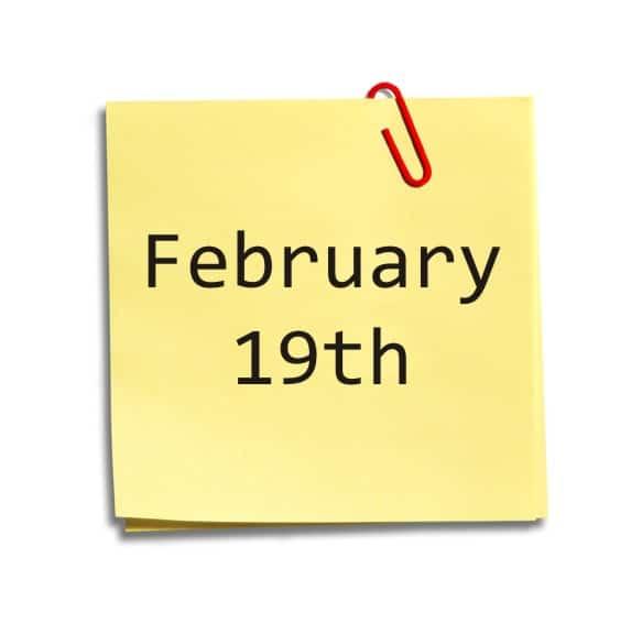 (Značenje dana rođenja) Devetnaesti februar