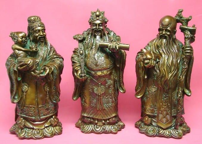Tri mudraca (Simbolika u Feng shuiu)