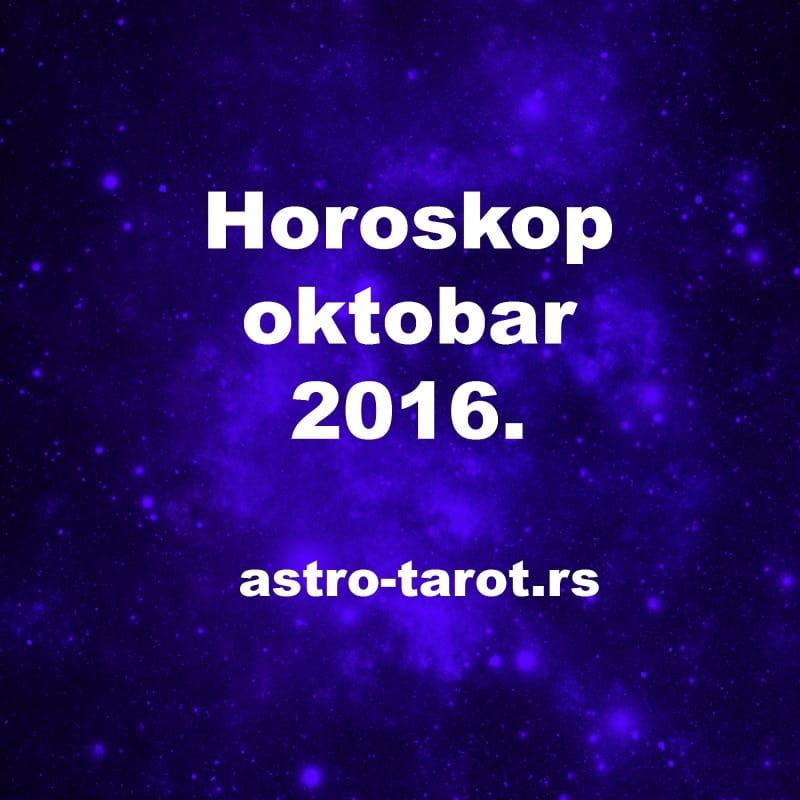 Mesečni horoskop oktobar 2016.