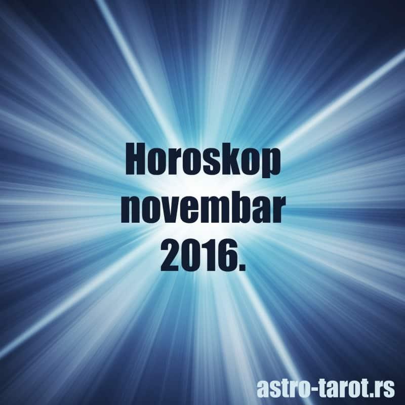 Horoskop za novembar 2016.