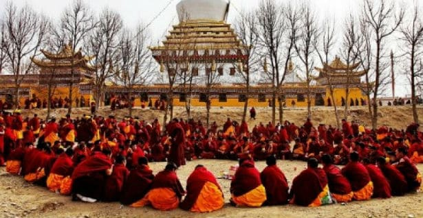 Ritual blagostanja Tibetanskih sveštenika