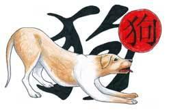 Pet elemenata kineskog horoskopa -znak Pas