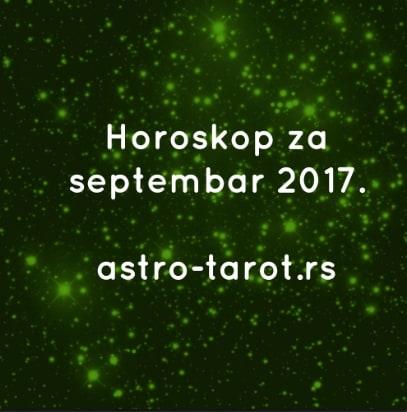 Horoskop za septembar 2017.