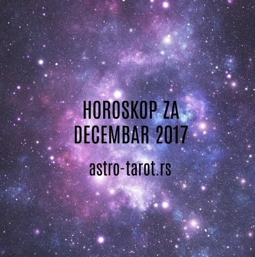 Horoskop za decembar 2017.