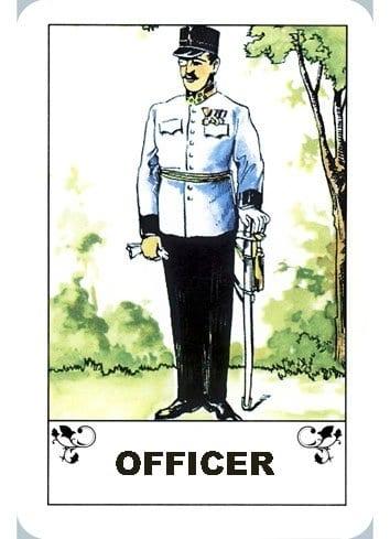 Karta Oficir – pokazatelj stabilnosti i dominacije (Ciganske karte)
