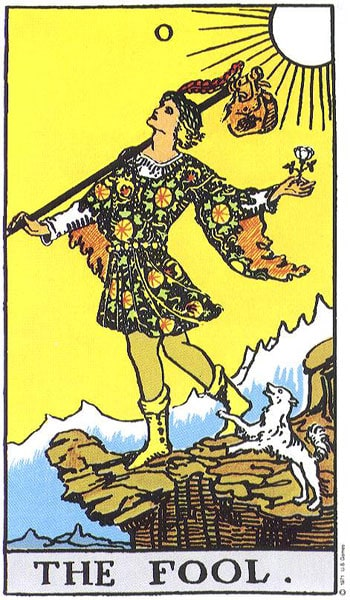 Tarot karta Budala – simbol tragača putnika i novih iskustava (prvi deo)