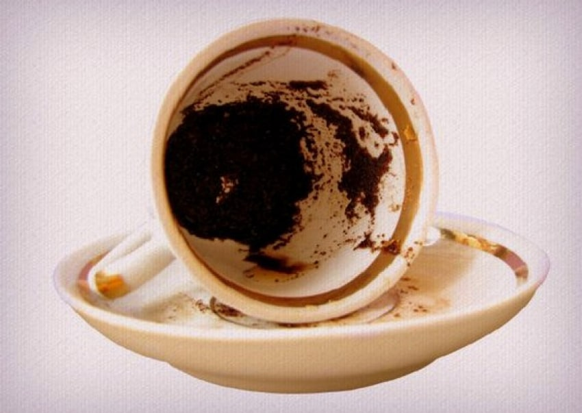 Gatanje iz taloga kafe – simbol ključ