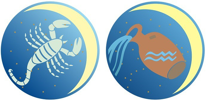 Astrološka kombinacija ( Vodolija – Škorpija )