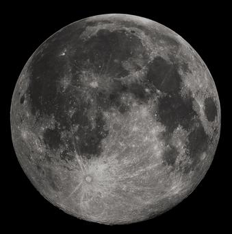 Konjukcija Marsa i Meseca