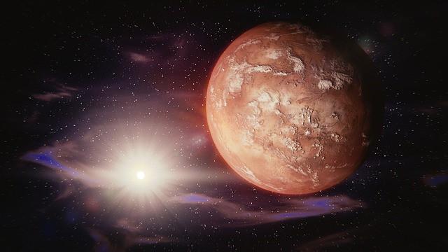 Mars – planeta fizičke snage, strasti i privlačnosti