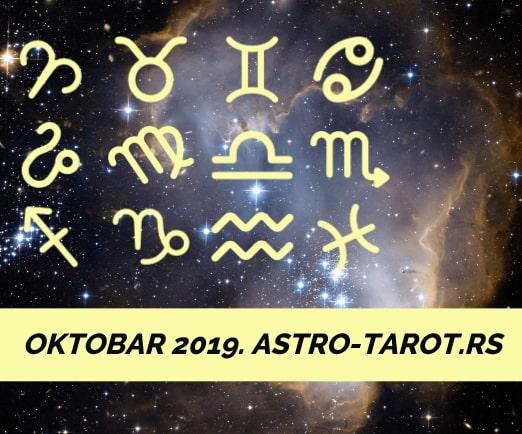 Horoskop za oktobar 2019.