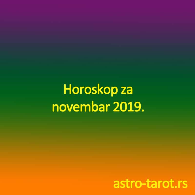 Horoskop za novembar 2019.