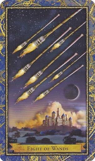 """Zaštitni amulet za ljubav """"Osam štapova"""""""