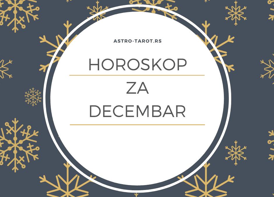 Horoskop za decembar 2019.