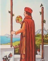 Tarot karta Dva štapa – značenje i ritual za privlačenje ljubavi