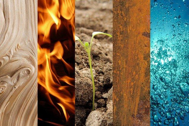 Obične karte – značenje prema 4 elementa