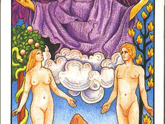 Tarot karta Ljubavnici – Ravnoteža  između Yin i Yang energije