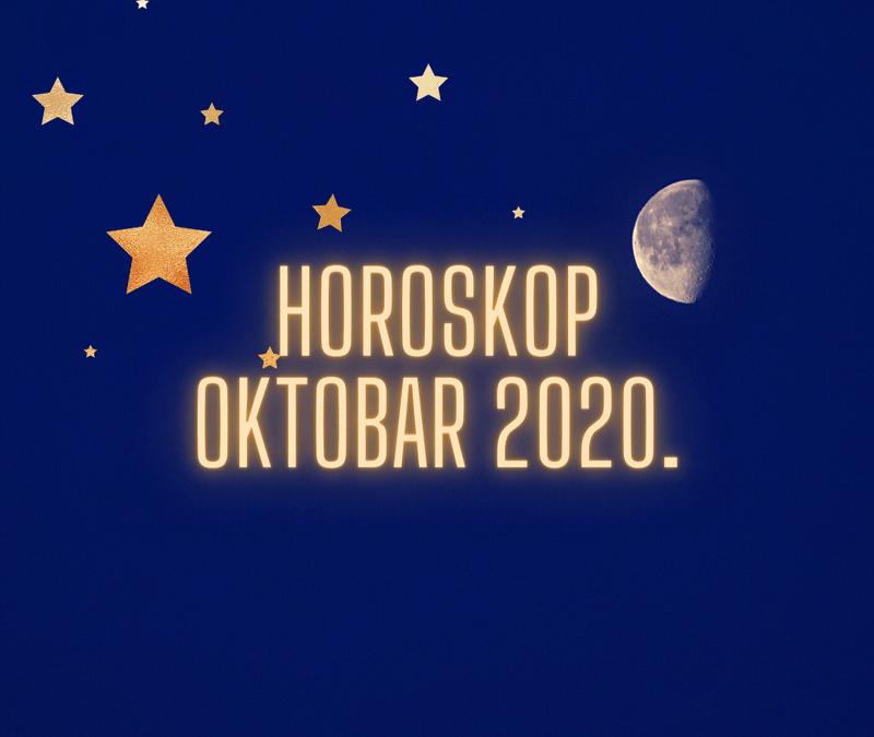 Horoskop za oktobar 2020.