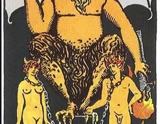 Tarot karta Vrag – ignorisanje aspekta duhovnosti